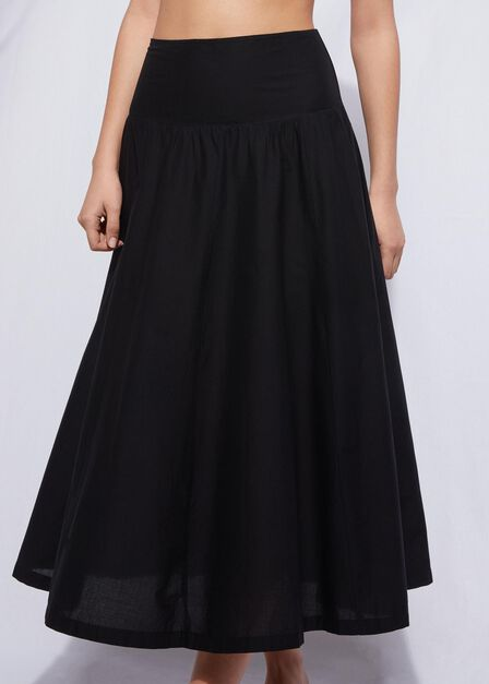 Calzedonia - Black Bandeau Skirt, Women - One-Size
