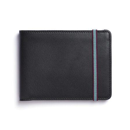 CARRE ROYAL - Carre Royal Portefeuille Porte-Carte En Cuir Leather Wallet Black