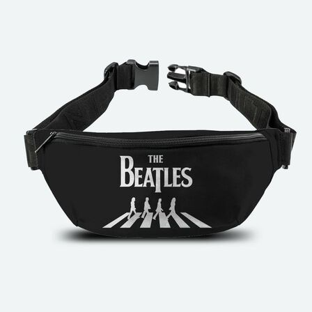 ROCKSAX - Beatles Abbey Road Black and White Bumbag
