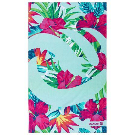 OLAIAN - L 145 X 85 Cm Print Towel - Guarana