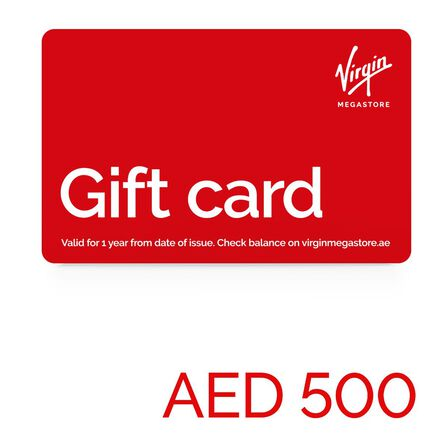 null - Virgin Megastore Gift Card - 500 AED