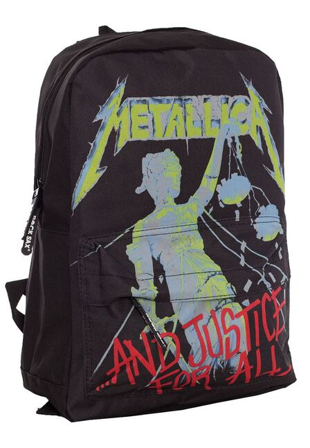 ROCKSAX - Metallica & Justice for All Classic Backpack