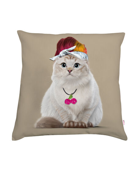 TEO JASMIN - Teo Jasmin Rockabilly Sable Decorative Cushion