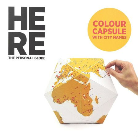 PALOMAR - Here Medium Personal Globe Color
