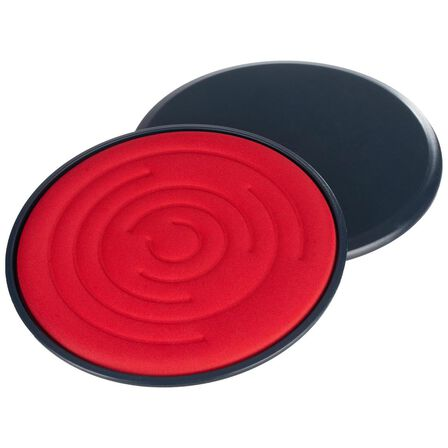DOMYOS - Sl 500 Gliding Discs - Asphalt Blue