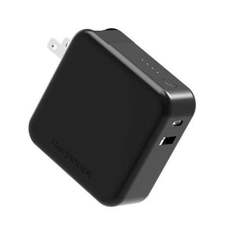 RAVPOWER - RAVPower 5000mAh PD + QC3.0 Charger Black