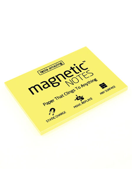 MAGNETIC STICKY NOTES - Magnetic Notes Yellow M