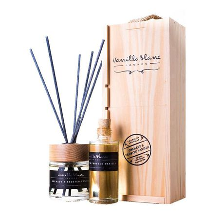 VANILLA BLANC - Vanilla Blanc Reed Diffuser Gift Set Complete With Refill