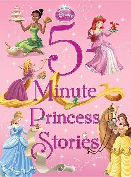 DISNEY PRESS USA - 5-Minute Princess Stories