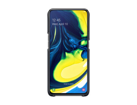 SAMSUNG - Samsung Standing Cover Black for Galaxy A80