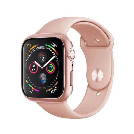HYPHEN - Hyphen Tempered Glass Protector Rose Gold for Apple Watch 44mm