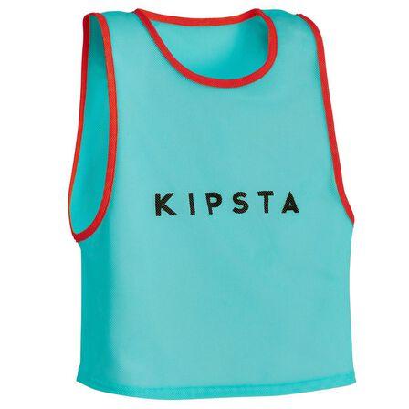 KIPSTA - Kids' Team Sports Bib - Caribbean Blue