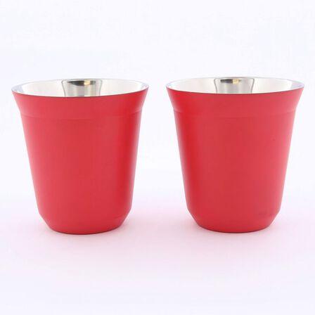 ROVATTI - Rovatti Pola 175ml Red Stainless Steel Cup
