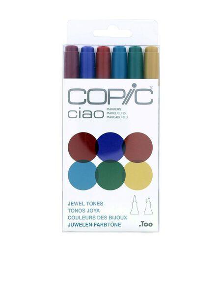 COPIC - Copic Ciao Jewel Tones [Set of 6]