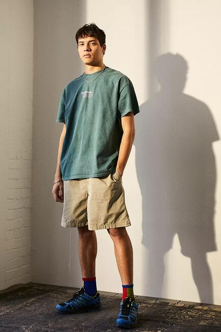 Urban Outfitters - Sand UO Nomad Ripstop Shorts, Men