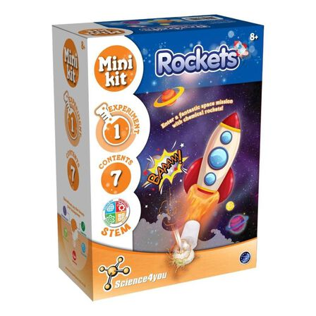 SCIENCE 4 YOU - Science 4 You Mini Kit Rockets