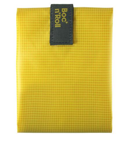 ROLL EAT - Roll'Eat Boc'n'Roll Square Yellow Lunch/Sandwich Kit