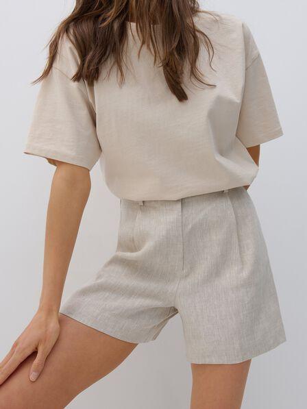 Reserved - Ladies` shorts - Beige