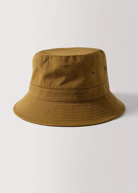 Mango - Pastel Brown Cotton Bucket Hat