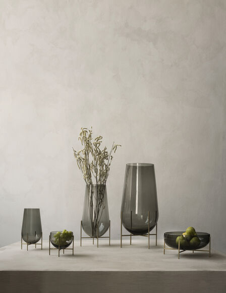 Menu - Echasse Vase, Smoke, Small