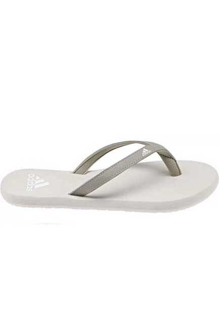 Adidas - White/Grey Flip Flop, Women