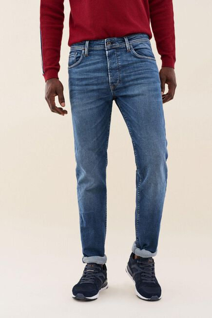 Salsa Jeans - Blue Regular colour lima tapered jeans