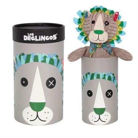 LES DEGLINGOS - Simply Jelekros the Lion Plush in Box [Big]