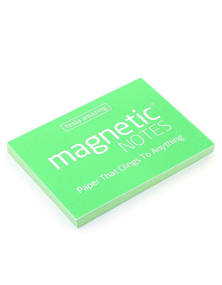 MAGNETIC STICKY NOTES - Magnetic Notes Green S