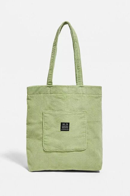 Urban Outfitters - KELLY UO Corduroy Pocket Tote Bag