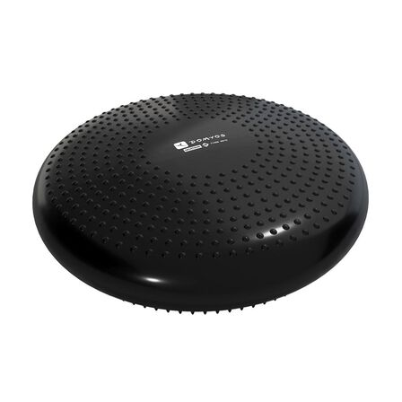 NYAMBA - Unique Size  Reversible and Adjustable SoftDisc Balance Cushion, Black