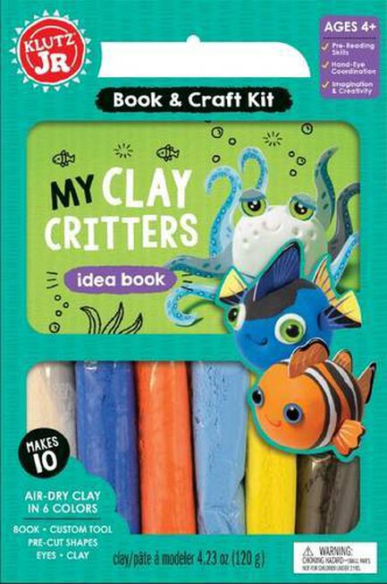 SCHOLASTIC USA - My Clay Critters