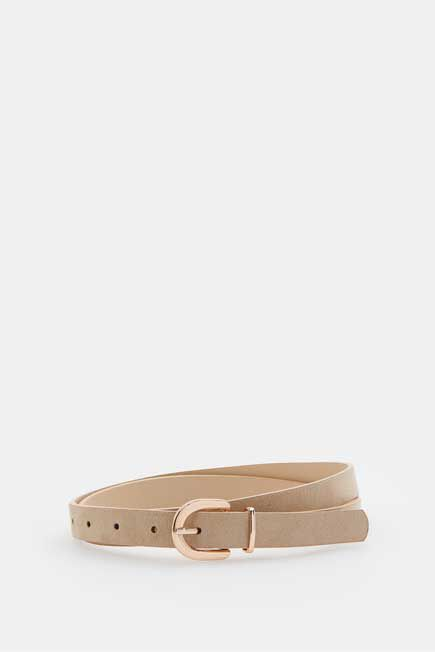 Mohito -  Belt With Buckle  Eco Aware - Beige