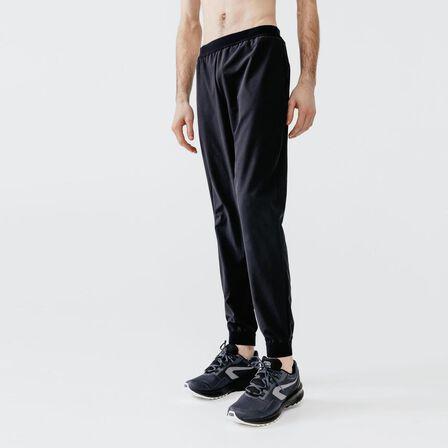 KALENJI - W32 L33 Kalenji Dry Men's Breathable Running Trousers - Black