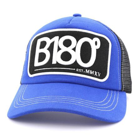 B180 CAPS - B180 Sign 7 Unisex Cap Blue/Black