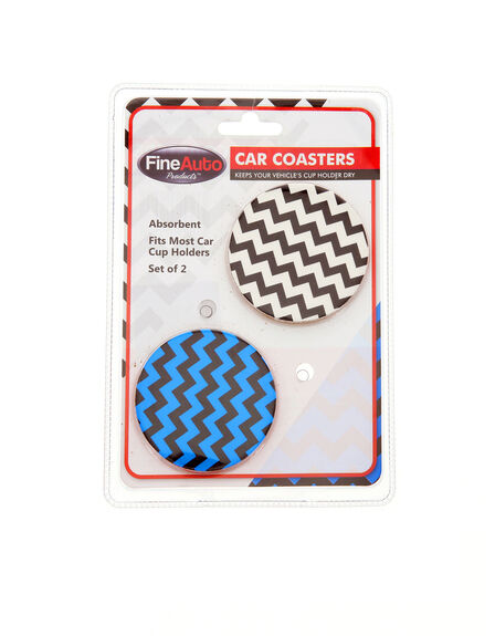 FINELIFE - Finelife Car Coasters Set Of 2 Camo Design