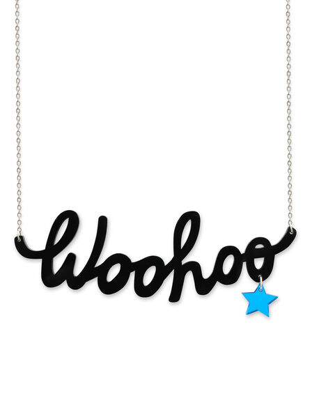 LITTLE MOOSE - Little Moose Chit Chat Woohoo Necklace