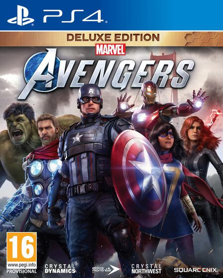 SQUARE ENIX - Marvel Avengers - Deluxe Edition - PS4