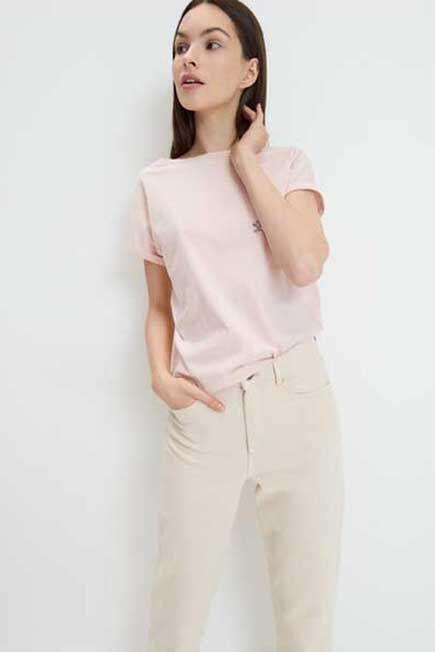 Mohito -  Eco Aware Cotton T-Shirt - Pink