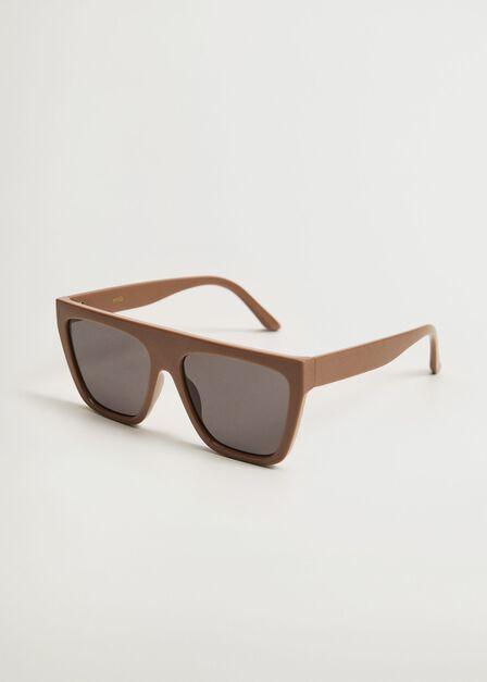Mango - medium brown Acetate frame sunglasses, Women