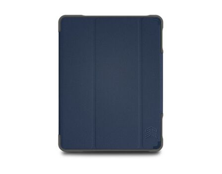 STM - STM DUX Plus Duo Case Midnight Blue for iPad 10.2-Inch