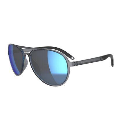 QUECHUA - Unique Size  Hiking Sunglasses Category 3 MH120A, Graphite
