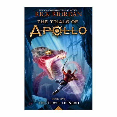 DISNEY PRESS USA - The Tower Of Nero Trials Of Apollo Book 5 Tpb