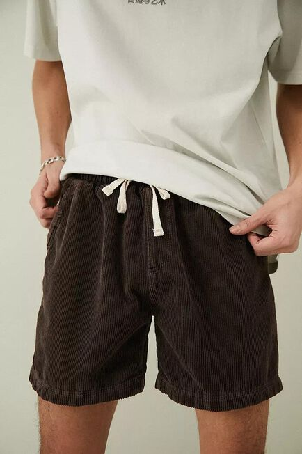 Urban Outfitters - Brown BDG Chocolate Corduroy Shorts