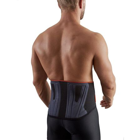 TARMAK - 2  Soft 300 Men's/Women's Supportive Lumbar Brace - Black, Black