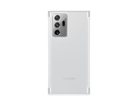 SAMSUNG - Samsung Clear Protective Cover White for Galaxy Note20 Ultra