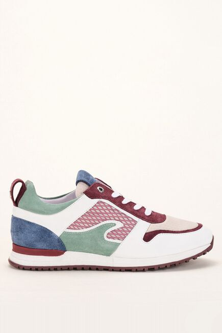 Salsa Jeans - Green Leather sports trainers