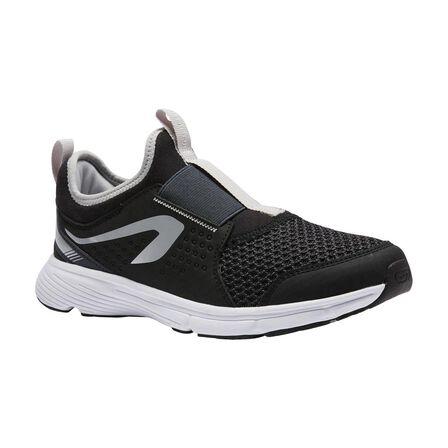 KALENJI - EU 31 Run Support Easy Kids' Athletics Shoes - Black