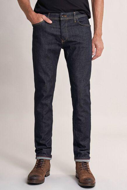 Salsa Jeans - Blue Slender slim carrot rip-proof dark jeans