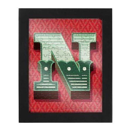 RIDLEYS - Ridleys Alphabet Jigsaw Puzzle with Frame Letter N