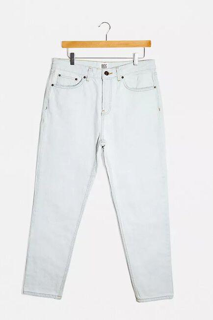 Urban Outfitters - LT BLUE BDG Bleach Wash Men's Dad Jeans